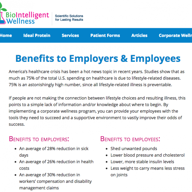 BioIntelligent Wellness